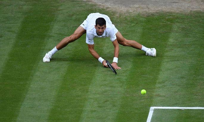 Novak Djokovic (Ser) TENNIS : Wimbledon 2021 - 09/07/2021 AntoineCouvercelle/Panoramic PUBLICATIONxNOTxINxFRAxITAxBEL