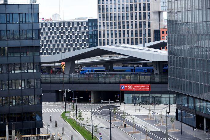 Archivbild: Hauptbahnhof Wien