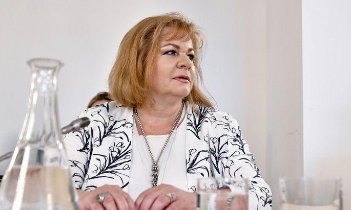Ilse Vrabl-Sanda, Leiterin der Wirtschafts- und Korruptionsstaatsanwaltschaft