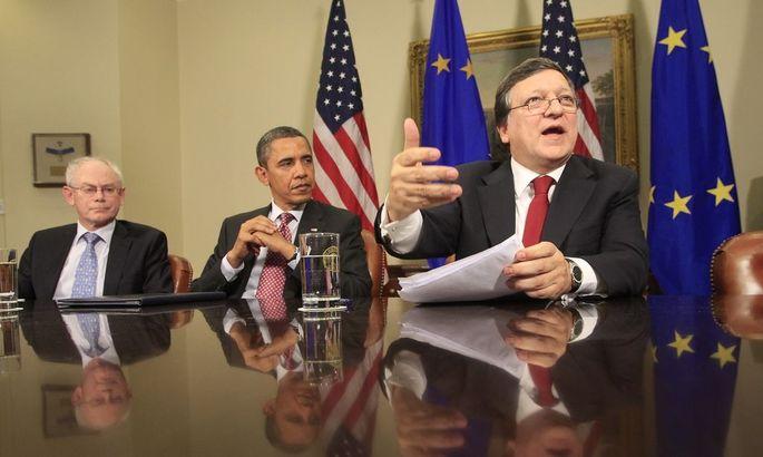Obama meets European Union leaders in Washington
