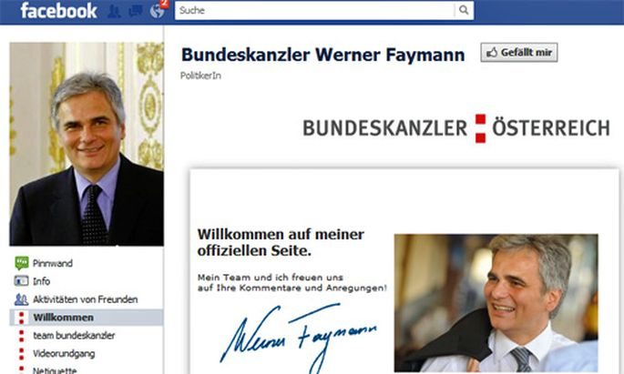 Bericht Faymanns falsche Freunde