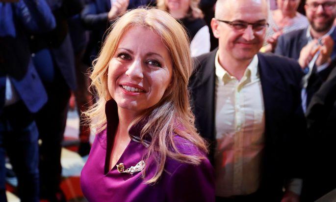 Zuzana ?aputová will pro-europäisch agieren.