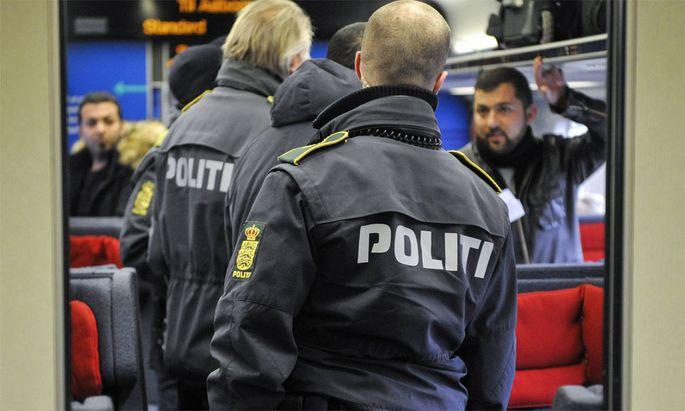 Dänische Grenzkontrollen.