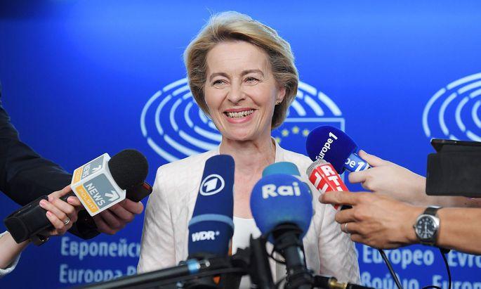 Es ist erfreulich, dass endlich die erste Frau in das Dachgeschoß des Berlaymont-Gebäudes einzieht.