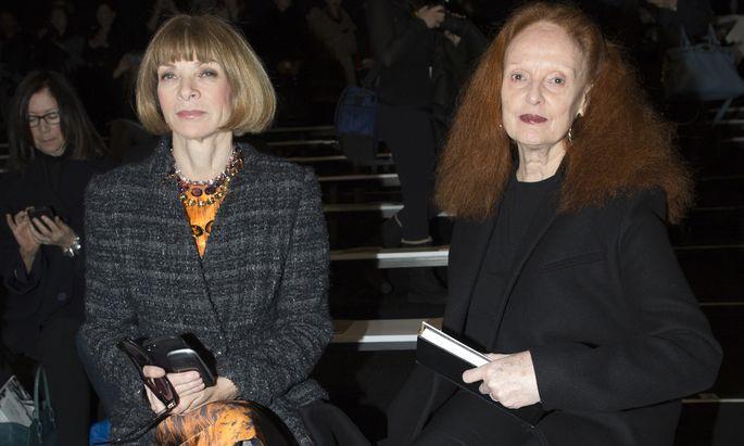 """Vogue""-Chefin Anna Wintour und Grace Coddington."