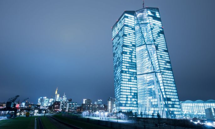 Auch bei der Europäischen Zentralbank macht man sich bereits Gedanken über das Euro-Zwischenhoch.