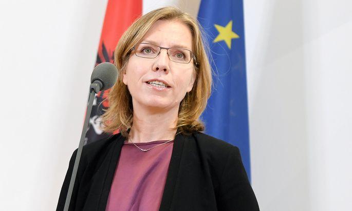 Wahrscheinlich bald Ministerin: Leonore Gewessler (Grüne).