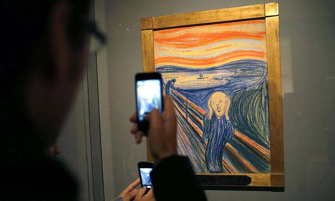 Munch fürchtete - mit guten Gründen - um seine geistige Gesundheit.