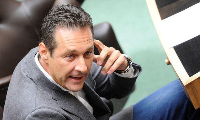 FPÖ-Chef Heinz Christian Strache