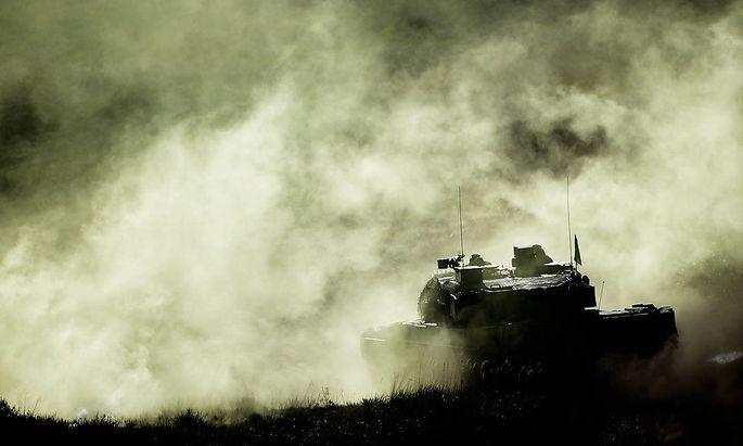 Ein Panzer der Bundeswehr. (Symbolfoto)