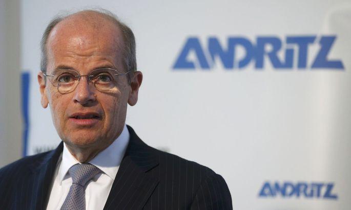 Andritz-Chef Wolfgang Leitner holt Großauftrag aus Chile