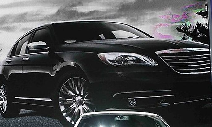 Chrysler 200 Sedan is displayed at the LA Auto Show in Los Angeles