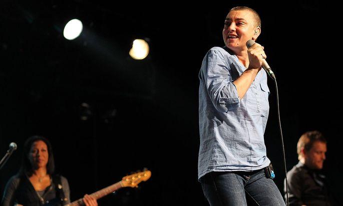 Die Sängerin 2012.