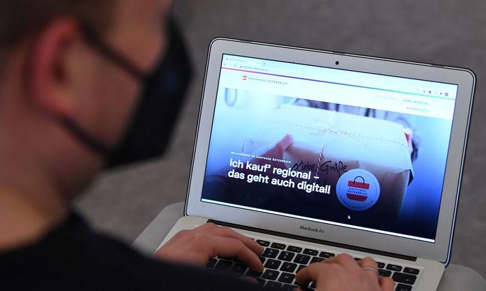 Kaufhaus Österreich-Website