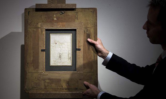 FRANCE-AUCTION-LEONARDO-DA-VINCI-ART