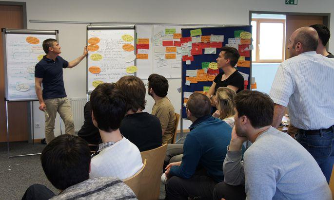 Wie komplex es sein kann, eine Idee auch umzusetzen, lernen Teilnehmer des Erweiterungsstudiums Innovation an der TU Wien.