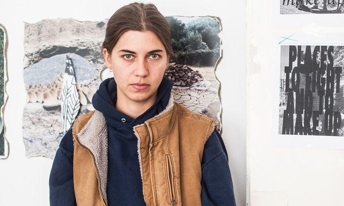 Ort der Inspiration. Anna-Sophie Berger arbeitet zurzeit noch in ihrem Atelier in Wien.