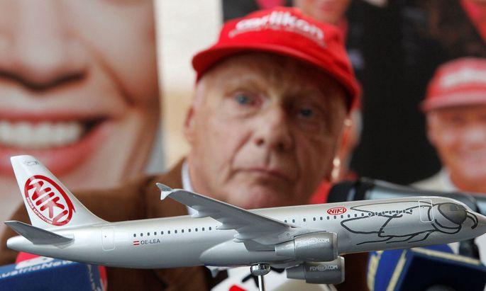 Niki Lauda und Niki sind nun wieder eine Einheit.