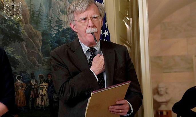 John Boltons Aufzeichnungen könnten Donald Trump unangenehm werden (Archivbild)