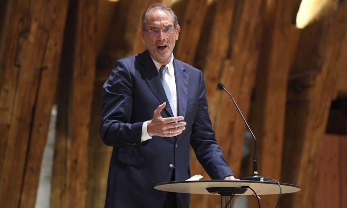 Bildungsminister Heinz Faßmann (ÖVP) präsentierte am Montag die Eckpunkte der geplanten Ethik-Lehrpläne.