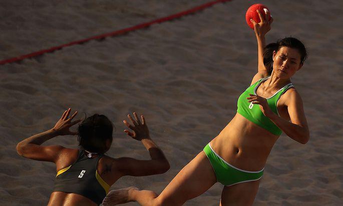 Symbolbild Beachhandball