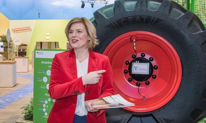 Agrarministerin Juli Klöckner
