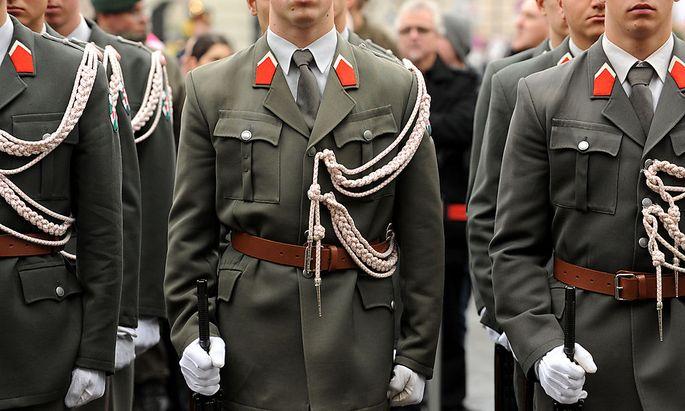 Symbolbild: Garde des österreichischen Bundesheeres