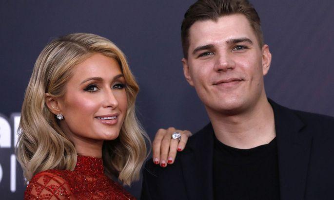 Paris Hilton und ihr Verlobter Chris Zylka.