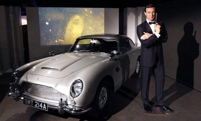 """Weltweit sind nur noch drei dieser """"007""""-Spezialanfertigungen bekannt."""