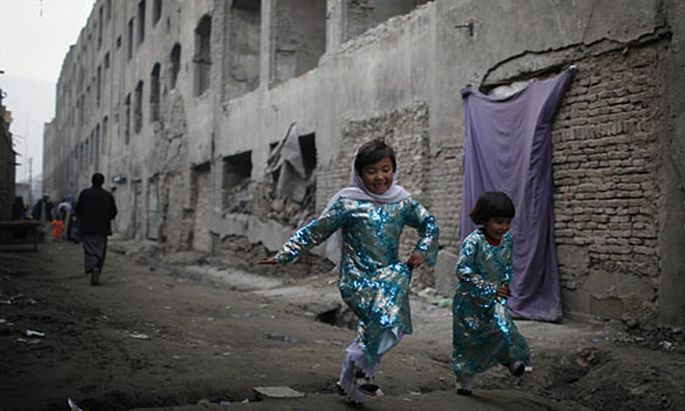 Straße in Kabul
