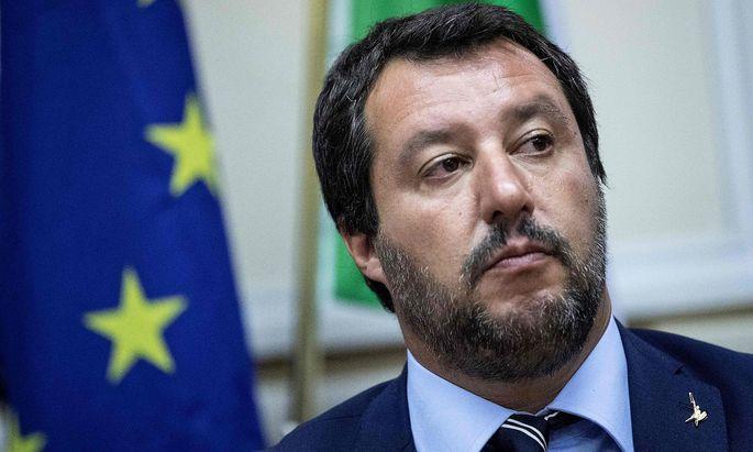 Matteo Salvini ist mit der UNO nicht zufrieden.
