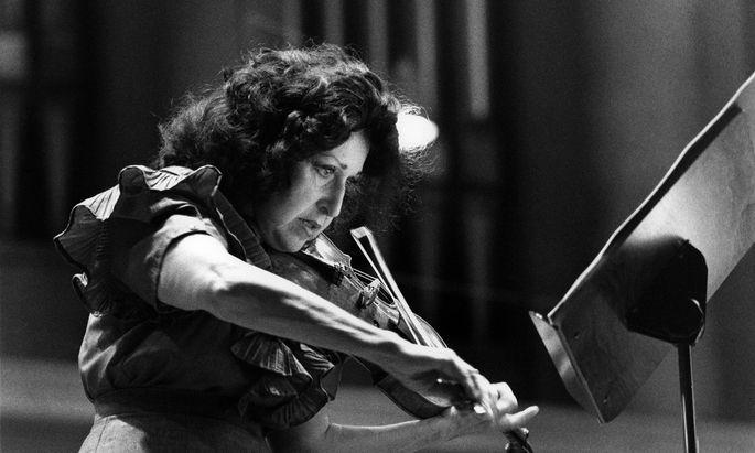 Ida Haendel, Archivbild 1989.