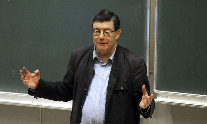 Vorlesungen von Lothar Höbelt wurden gestört.