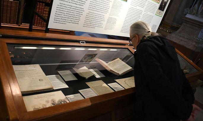 """Die Ausstellung """"Beethoven - Menschenwelt und Götterfunken"""" in der Nationalbibliothek"""