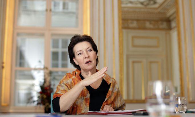 SPÖ-Frauensprecherin Gabriele Heinisch-Hosek