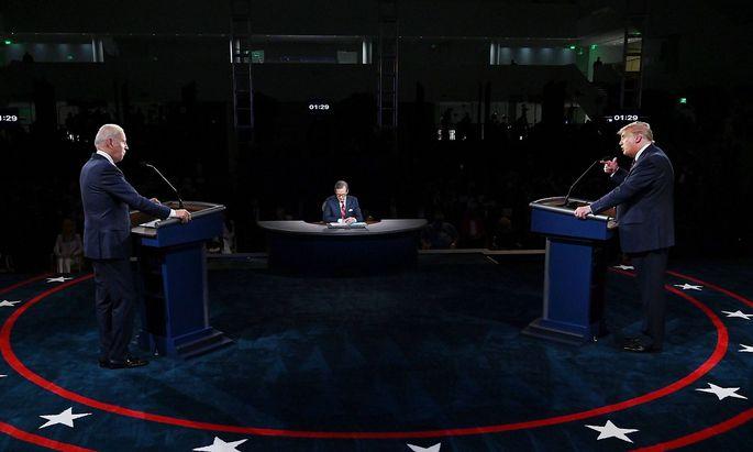 TV-Duell Trump - Biden