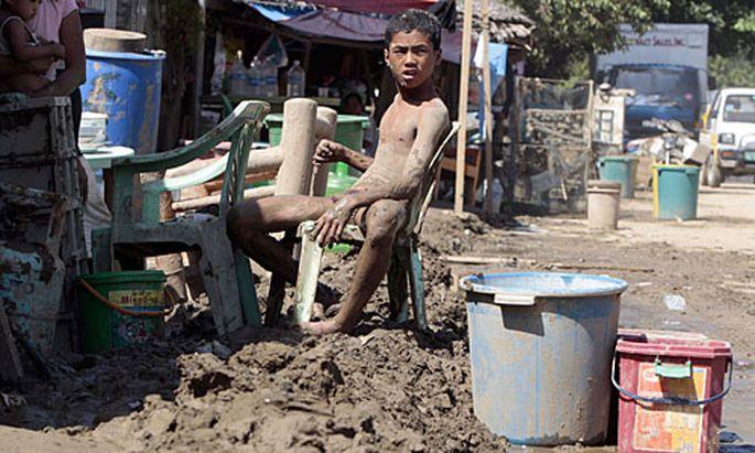 Sturm Philippinen Behoerden warnen