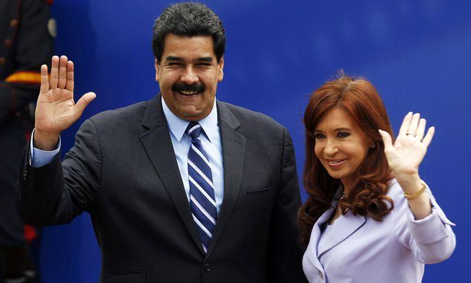 Nicolas Maduro und Cristina Fernandez de Kirchner
