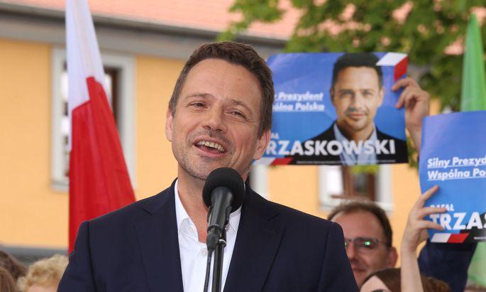 Der Warschauer Bürgermeister Rafal Trzaskowski könnte die Präsidentenwahlen gewinnen