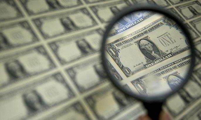 Frauen auf US-Dollars findet man derzeit nicht einmal mit der Lupe