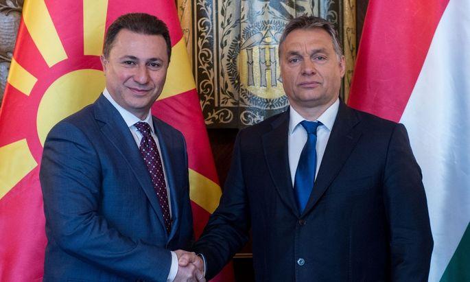 Warum schützt Viktor Orbán Nikola Gruevski?