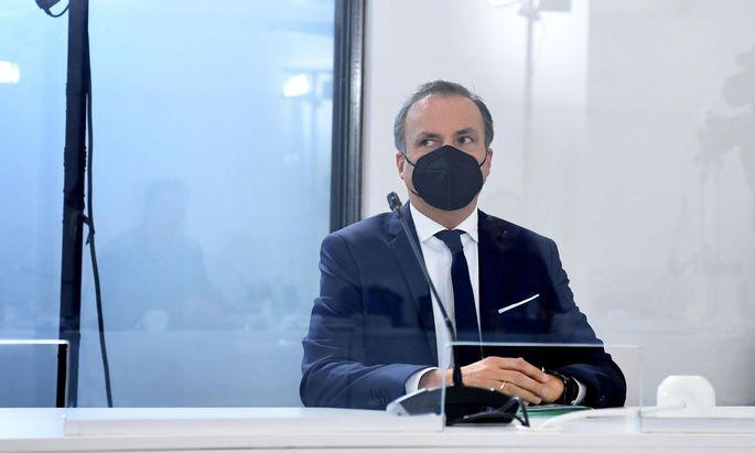 Der Vorstand der Finanzmarktaufsicht (FMA) Eduard Müller