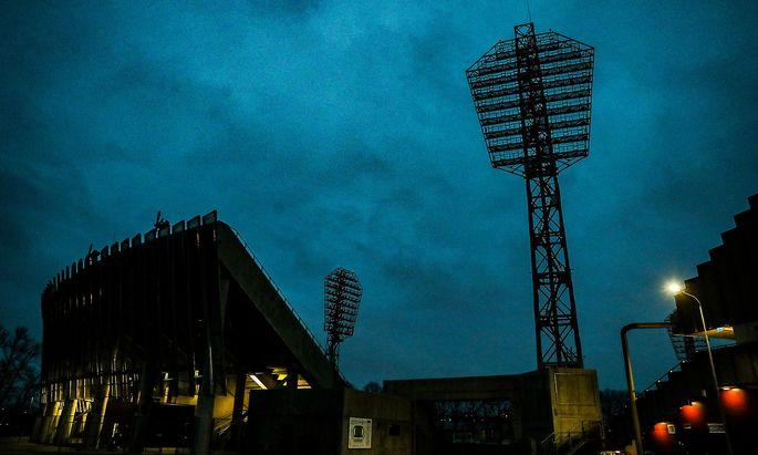 Anlass für die erste paneuropäische EM-Endrunde 2020 ist das 60-jährige Bestehen des Wettbewerbs. Im Bild das Daugava-Stadion in Riga, wo Österreich sein letztes Quali-Match bestritt.