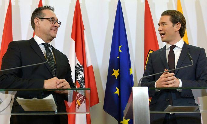Am Neujahrstag verkündeten Regierungschef Sebastian Kurz (ÖVP) und Vizekanzler Heinz-Christian Strache (FPÖ) das Aus für den Beschäftigungsbonus und die Aktion 20.000.