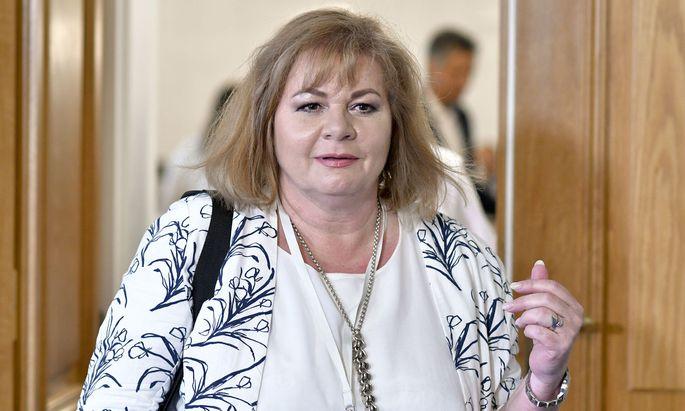 WKStA-Leiterin Ilse-Maria Vrabl-Sanda muss sich Kritik gefallen lassen.