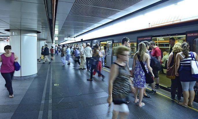 Die Zahl der Fahrgäste in Wien stieg auch 2016 weiter.