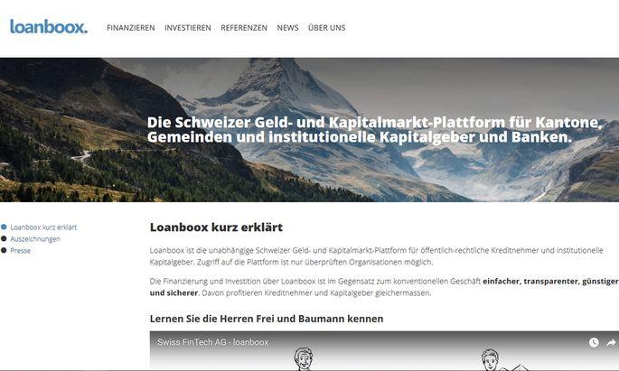 Die Schweizer Internet-Plattform bietet eine Alternative zum Kredit bei der Hausbank.