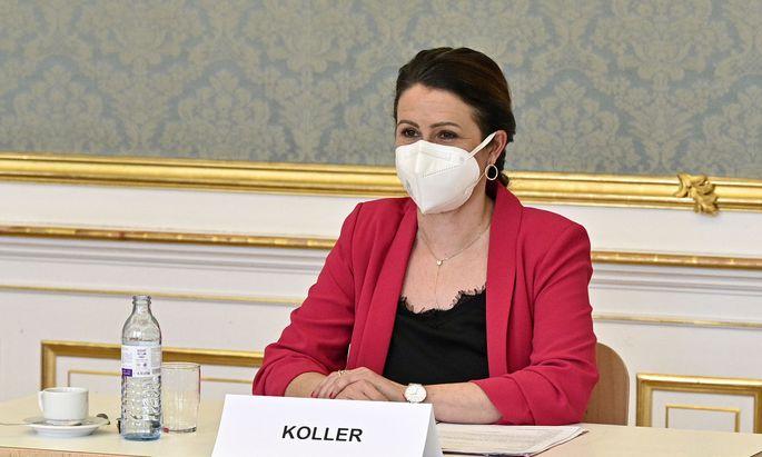 Präsidentin Cornelia Koller