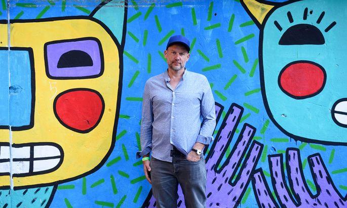 Andreas Jantsch, Chef von Las Vegas Records und Mitbegründer der neuen Plattform Fanklub.