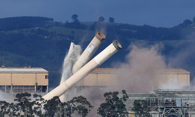 Die Hazelwood Power Station wurde abgerissen